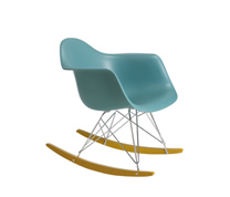 Eames blue rocking chair