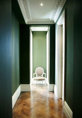 green-hallway-french-chair2