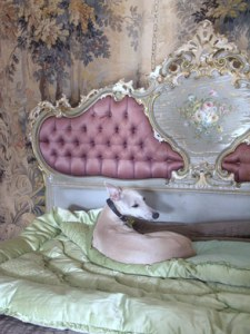french bed silks