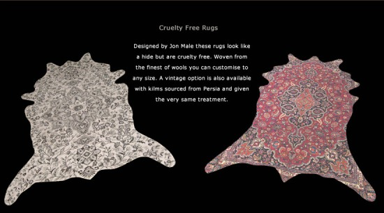 Jon Male cruelty free rugs