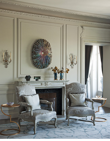 Michel and sally perrin s homes in paris and la emily for Interior design jobs in europe