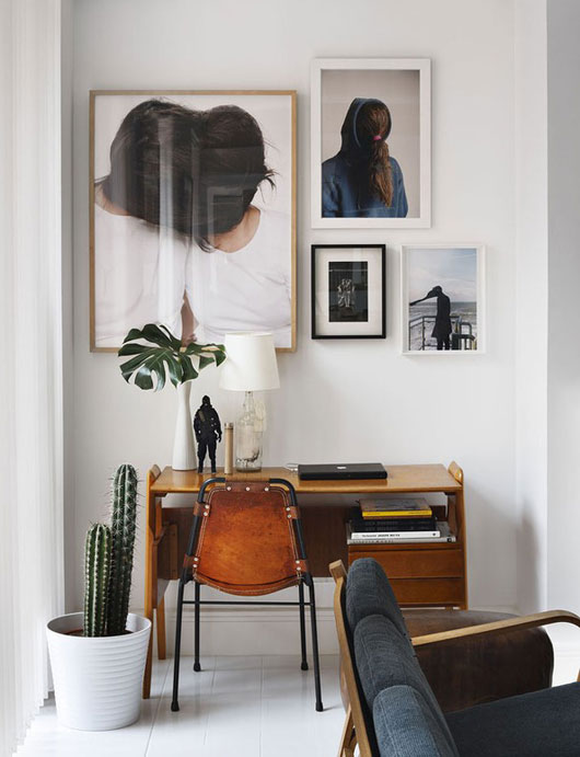 A Desk With A View My Home Office Inspirations Emily