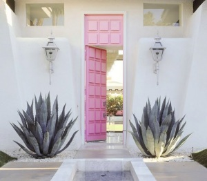 moises_esquenazi_pink_front_door_palm_springs